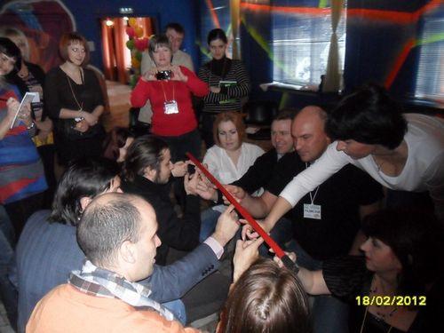 Гелиевая палочка. 9-й международный МЛК-Фестиваль  Бизнес-Виртуозов