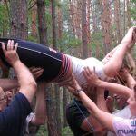 Вертикальная паутина. Упражнение Веревочного курса