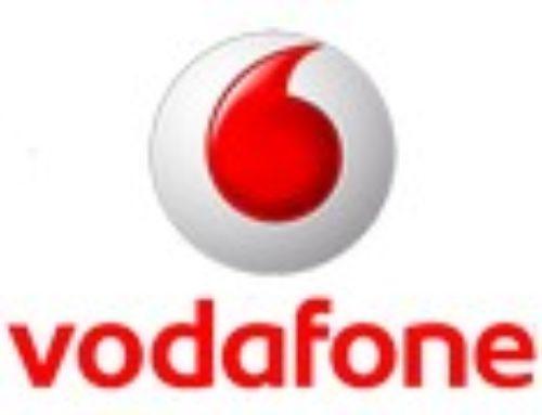 Письмо-благодарность от компании Vodafone