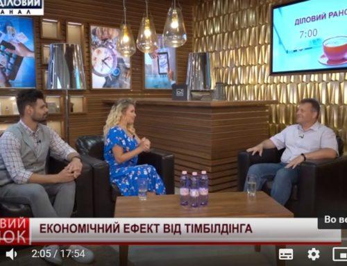 Эфир на «Первом деловом телеканале» про эффективность тимбилдинга 20.06.2019